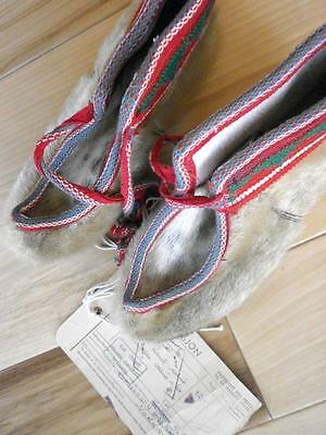 Quality Handmade Fur Skaller Shoes Norwegian Lappland From Norway