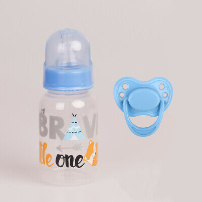 Dummy Magnetic Pacifier Feeding Bottle Lifelike Baby Boy Reborn Doll Accessories