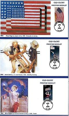 Old Glory Issue 5 Diff FDC #3776-80 BGC Cachet B581