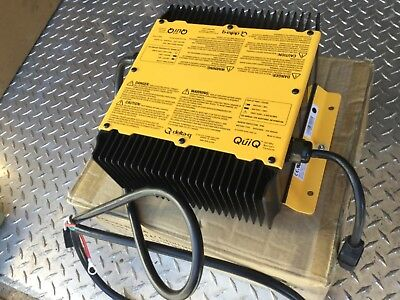QuiQ Battery Charger 912-9600 Golf Cart OP:96V 9A Lead Acid 48 Cell 50-150 Ah VG