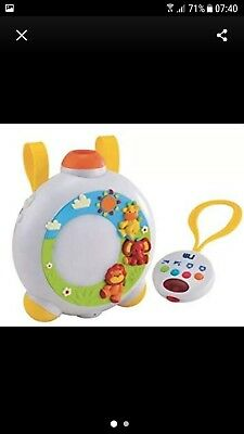 Mothercare Lullaby Projector Light Show Music Sleep Baby Cot Mobile Toy VGC
