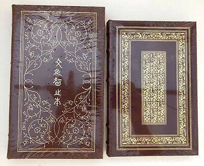 NEW Sealed Lot of 2 EASTON PRESS Books The Prince & The Analects of Confucius NR