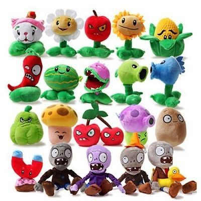 Cute Doll Set of【10】【 14】【18】【20】Plants vs Zombies 1or 2 Plush Toy Doll 14-28cm*