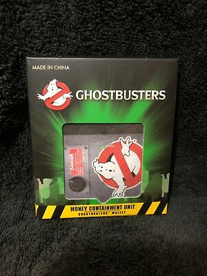Ghostbusters Money Containment Unit Wallet - NEW in the Package