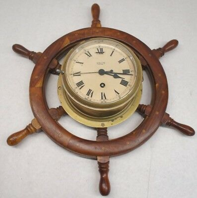 Vintage Smith Astral Ship's Clock Made in England