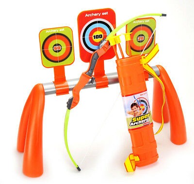 Archery Shooting Set for Kids With 3 Targets and Quiver - Playset