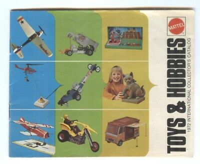 Vintage Mattel Toys & Hobbies 1972 Catalog 24 Pages