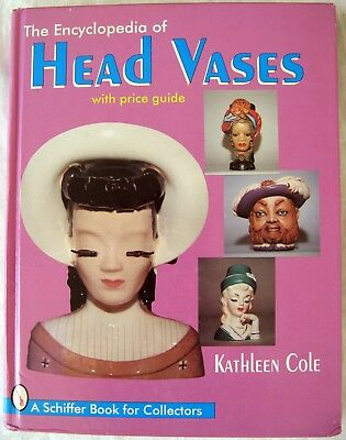The Encyclopedia of head Vases with Price Guide by Kathleen Cole  L8