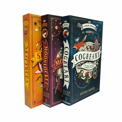 The Cogheart Adventure Series Collection 3 Books Set Peter Bunzl, Skycircus NEW