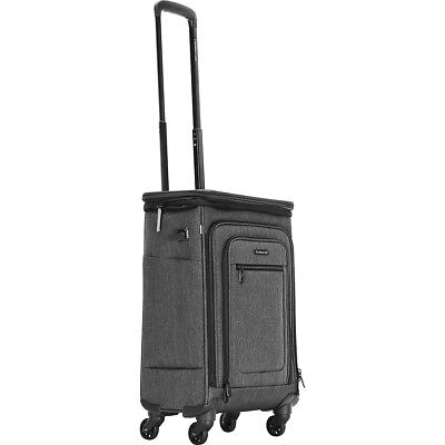 """Travelers Club Luggage Springdale 21"""" Expandable Softside Carry-On NEW"""