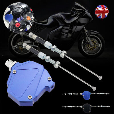 Universal Motorcycle Stunt Clutch Pull Cable Lever Easy System Dirt bike 2Color