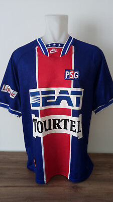 jersey/shirt/maillot NIKE vintage PSG home '94 XL very nice France N0 Bordeaux