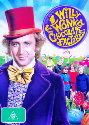 Willy Wonka And The Chocolate Factory (Region 4 DVD)