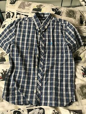Boys Fred Perry Shirt Medium Youth Probably Age 10/11/12