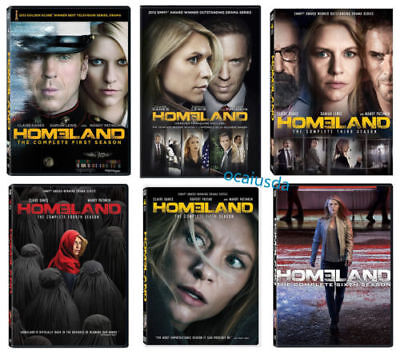 Homeland: The Complete Series Seasons 1-6(DVD, 2018, 24-Disc Box Set) new