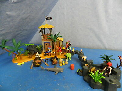 3938 Piratenlagune Piraten pirates Lagune Insel Figuren Kanonen Playmobil 6997