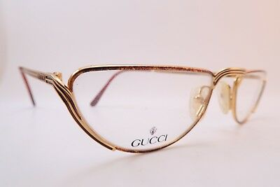 Vintage Gucci reading eyeglasses frames NOS Mod GG 2203 size 53-21 made in Italy