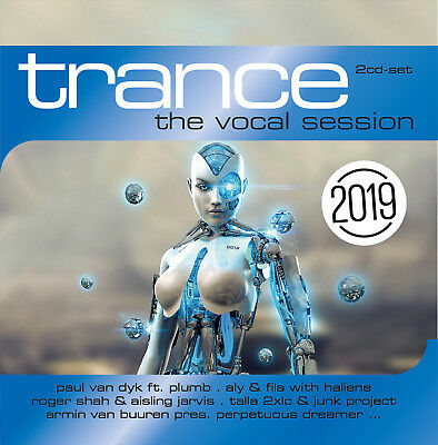 CD Trance: The Vocal Session 2019 von Various Artists 2CDs
