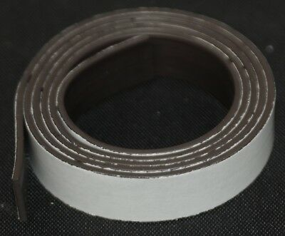 Magnetic self adhesive tape 12.5mm x 760mm FREE POSTAGE S46