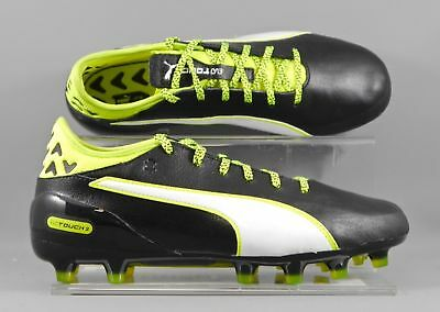 Puma (103750-01) Evotouch 2 AG adults football boots - Black/Yellow (new boxed)