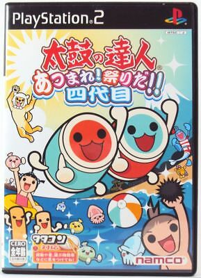 Taiko no Tatsujin 4th Generation PS2 Sony Japan Import PlayStation2 from Japan