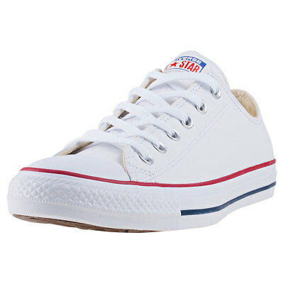 Converse Chuck Taylor All Star Ox Unisex White Leather Trainers