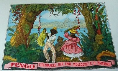 Advertising Victorian 1880's Trade Card  And Cigar Labels....black Americana