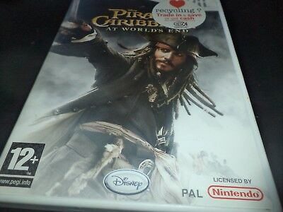 Pirates of the Caribbean  At World's End  Nintendo wii game