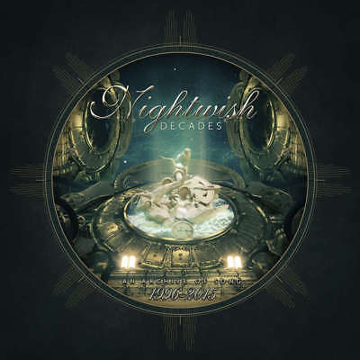 NIGHTWISH - Decades: An Archive Of Song 1996-2015 - Vinyl 3-LP Box black Vinyl