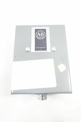 Allen Bradley 509-TAD Full Voltage Starter 120v-ac 2hp Size 00