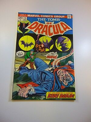 Tomb of Dracula #15 FN/VF condition Huge auction going on now!