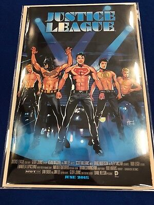 Justice League #40 Emanuella Lupacchino Magic Mike Variant