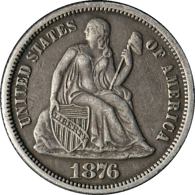 1876-P Seated Liberty Dime Great Deals From The Executive Coin Company