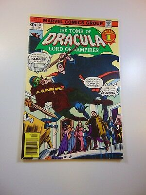 Tomb of Dracula #51 VF- condition Free shipping on orders over $100.00!