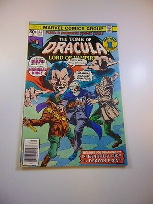 Tomb of Dracula #53 VF- condition Free shipping on orders over $100.00!