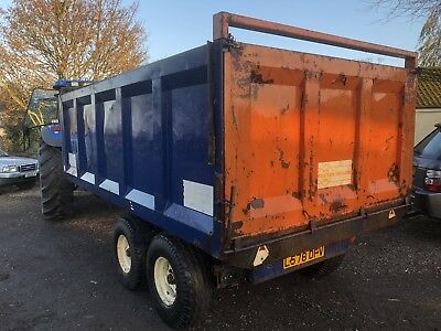 Ken Wootton 9 Ton Twin Axle Muck/grain Trailer