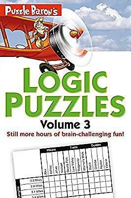 Puzzle Barons Logic Puzzles, Volume 3: More Hours of Brain-Challenging Fun!, Ryd