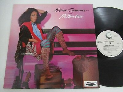 Donna Summer/the Wanderer Lp Germany Geffen Records 32 030 9