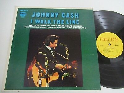 Johnny Cash/i Walk The Line Lp Us Pickwick/33 Records Js. 6097