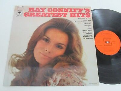 Ray Conniff/ray Conniff's Greatest Hits Lp Germany Cbs S 63 671
