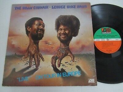 "The Billy Cobham-George Duke Band/""live"" On Tour In Europe Lp Atlantic Atl 50316"