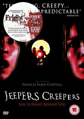 Jeepers Creepers Dvd New 2013 Region 2