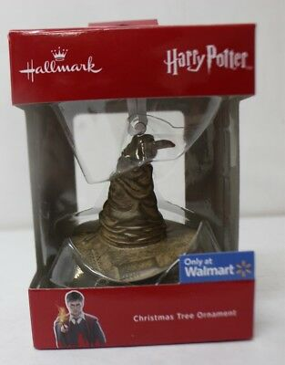 2018 Hallmark Ornament Harry Potter Sorting Hat Walmart Exclusive New Free Ship