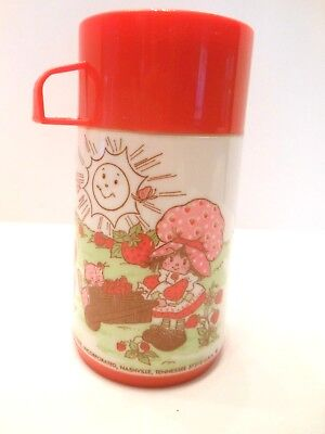 Strawberry Shortcake Aladdin thermos only American Greetings 1980