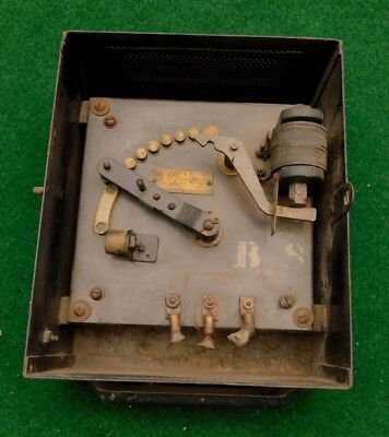 General Electric 220 Volt Starting Rheostat  Genuine Antique - Vintage Steampunk