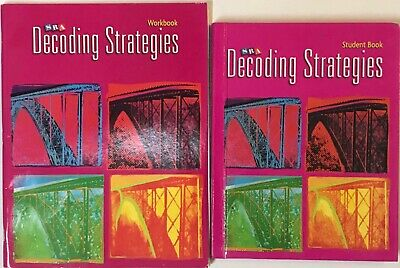 SRA Corrective Reading Decoding Strategies B2 2008 Student Edition & Workbook