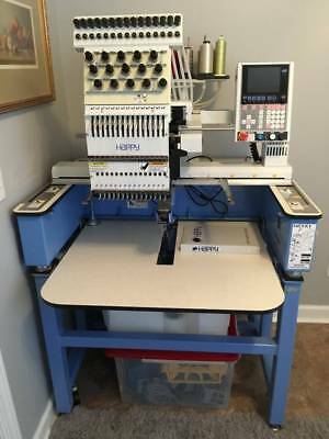 Happy Embroidery Machine HCA-1501-40TTC-15 needle commercial embroidery