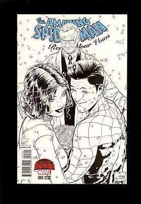 Amazing Spider-Man Renew Your Vows #5 Sketch Variant 1:250  Nm Comic Kings