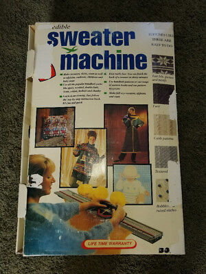 knitting machine NEW, great for sweater, knitting projet