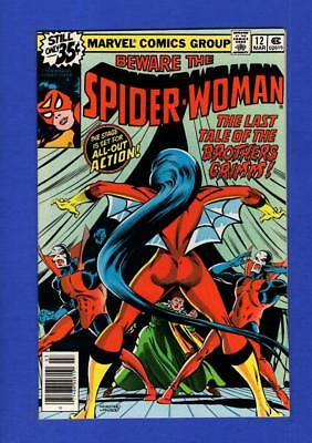 Spider-Woman #12 Nm 9.4 High Grade Bronze Age Marvel